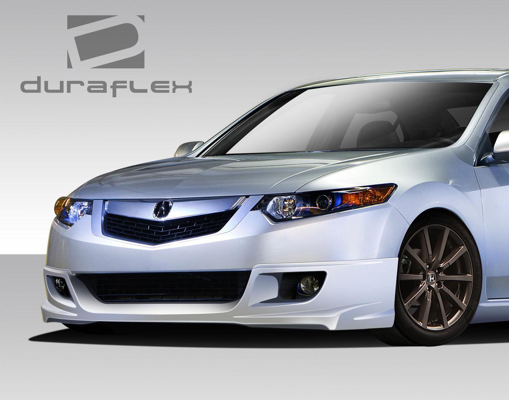 Acura TSX Type M Duraflex Full Body Kit - Acura tsx front lip