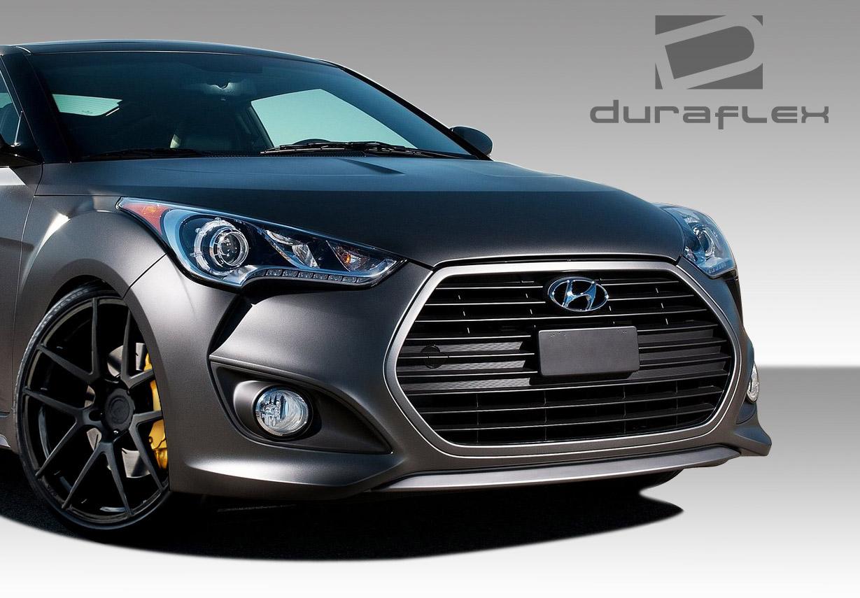 12 16 Fits Hyundai Veloster Turbo Look Duraflex Front Body Kit Bumper 108845 Ebay