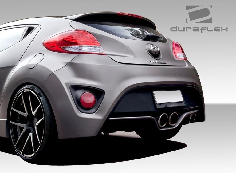 12 16 Fits Hyundai Veloster Turbo Look Duraflex Rear Body Kit Bumper 108847 Ebay