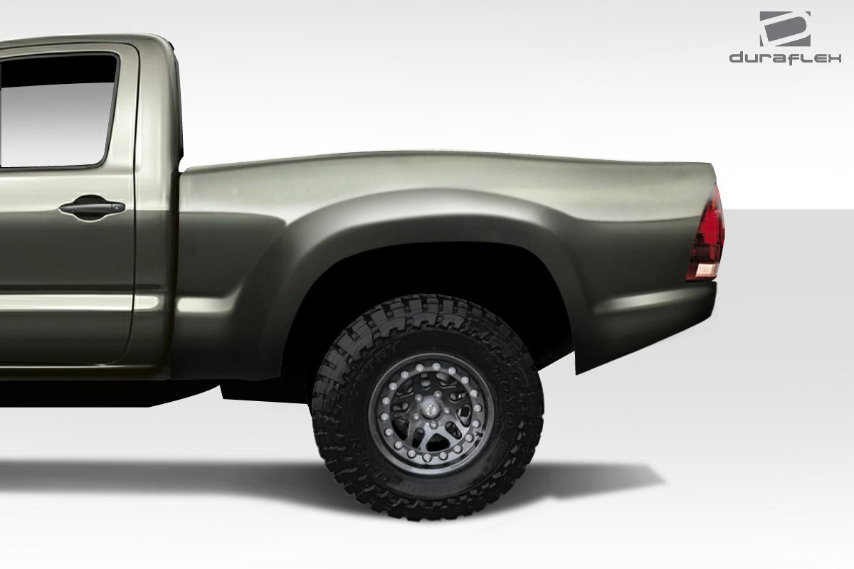Duraflex 6 Bulge Trophy Truck Bedsides Rear Fenders For 05 15