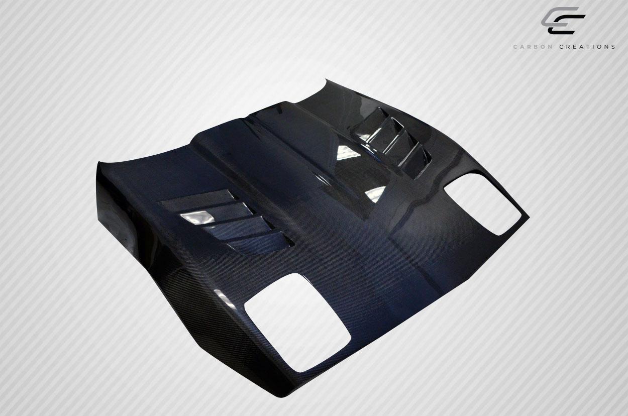Carbon Fiber Hood Body Kit for 1994 Chevrolet Corvette - 1985-1996  Chevrolet Corvette C4 Carbon Creations GT Concept Hood - 1 Piece