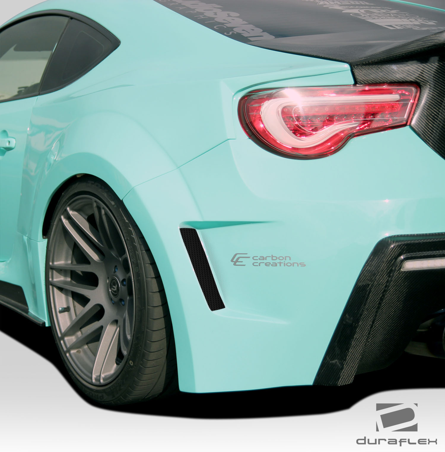 2015 scion frs fender body kit 2013 2018 scion fr s. Black Bedroom Furniture Sets. Home Design Ideas