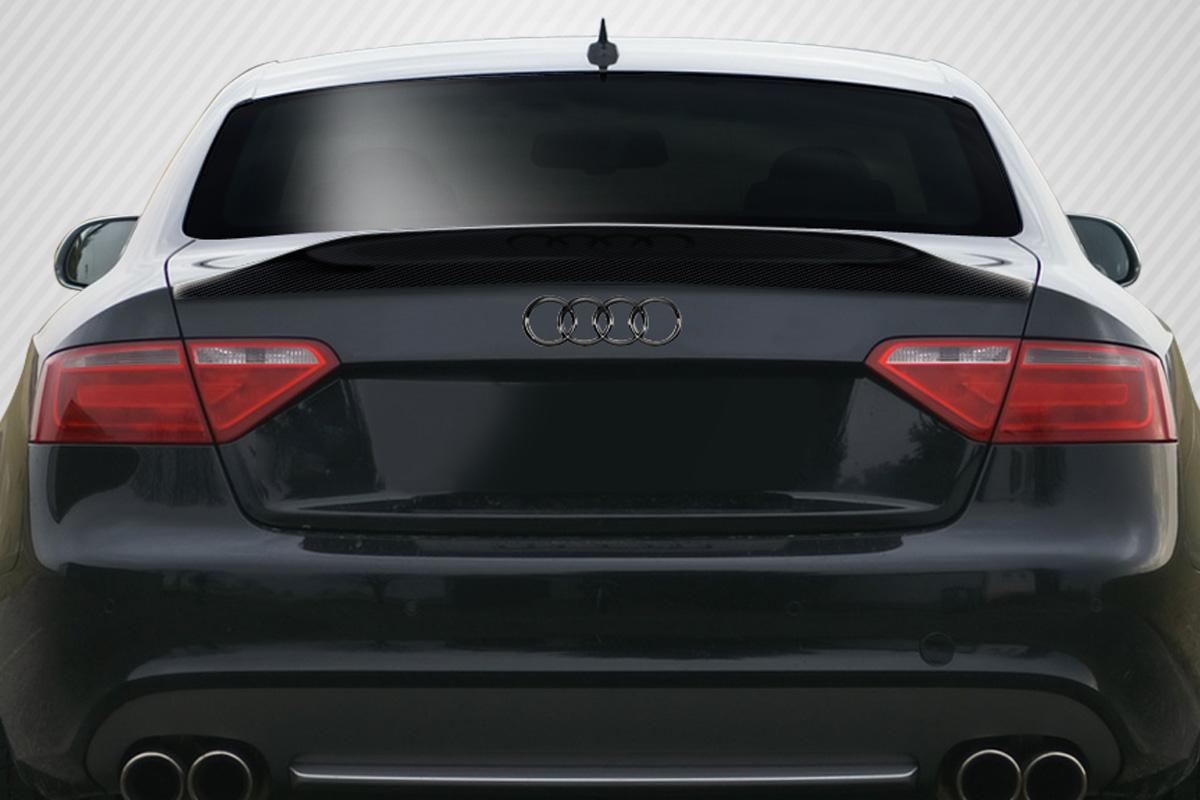 extreme dimensions 2008 2014 audi a5 s5 2dr convertible carbon creations cr c wing trunk lid. Black Bedroom Furniture Sets. Home Design Ideas