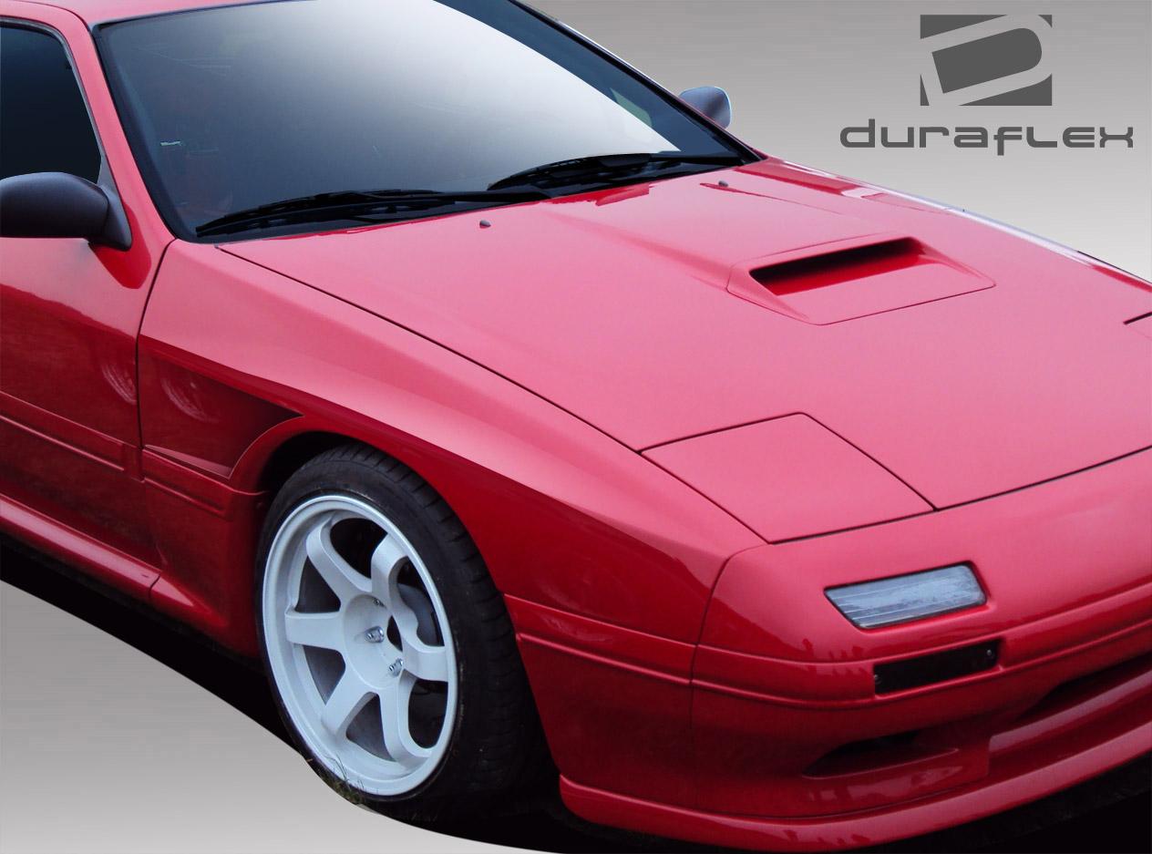 86 91 Mazda Rx7 Fk Sport Duraflex Body Kit Front Fenders