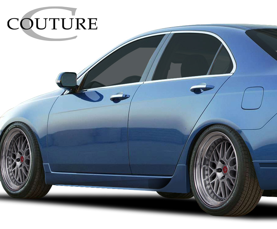 2004 2008 Acura Tsx Couture Vortex Side Skirt Rocker Panels
