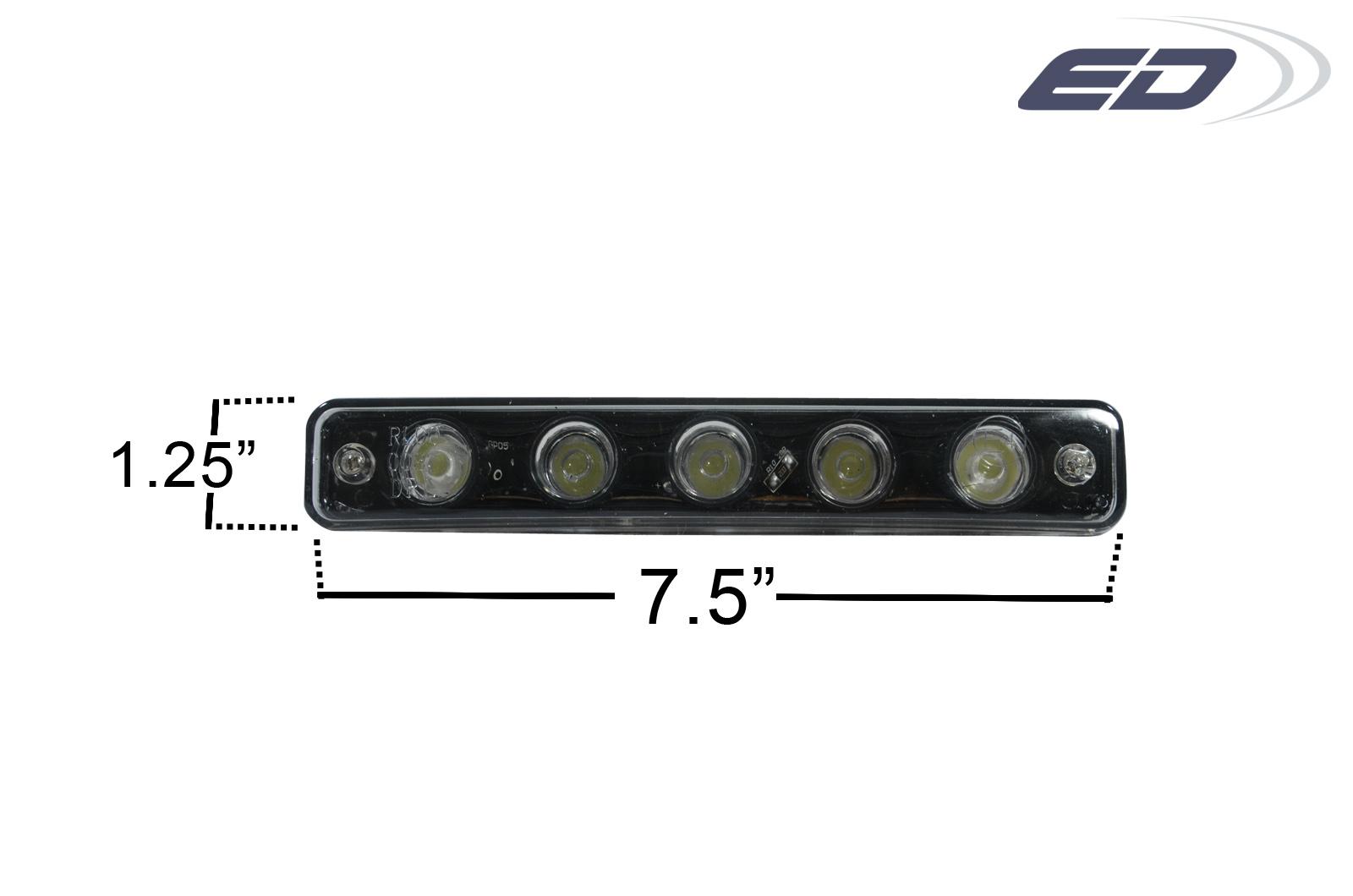 2015 Universal Universal ALL Lighting Bodykit - LED Daytime Running Light 3 - 2 Piece