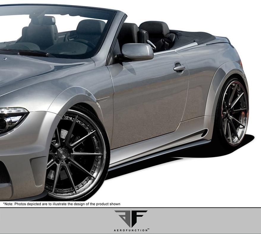04-10 BMW 6 Series Convertible AF-2 Aero Function 9 Pcs