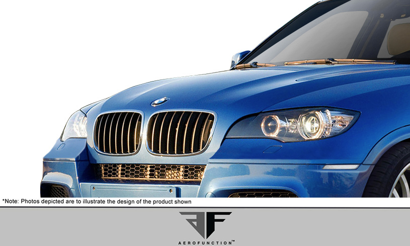 2011 Bmw X5 Grill Body Kit 2007 2013 Bmw X5 E70 Urethane Af 1 Front Bumper Cover Upper Grille