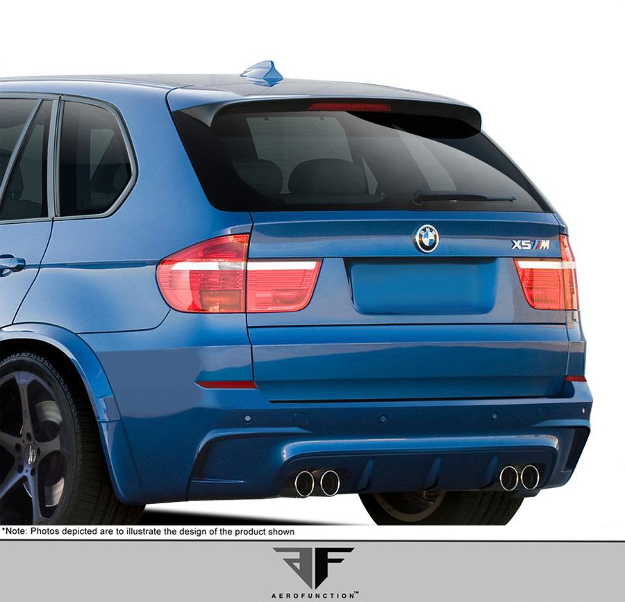 2007-2013 BMW X5 E70 Urethane AF-1 Rear Bumper Cover ( PUR