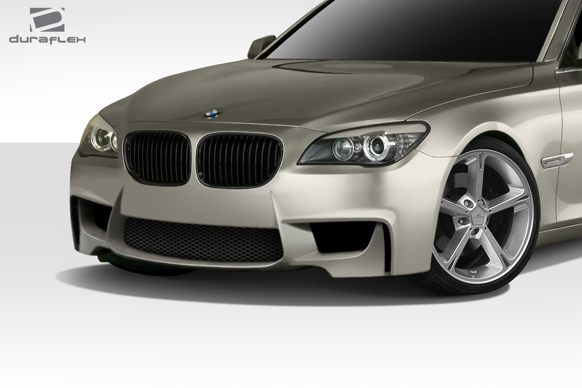 2009 2015 bmw 7 series f01 f02 duraflex 1m look front bumper cover. Black Bedroom Furniture Sets. Home Design Ideas