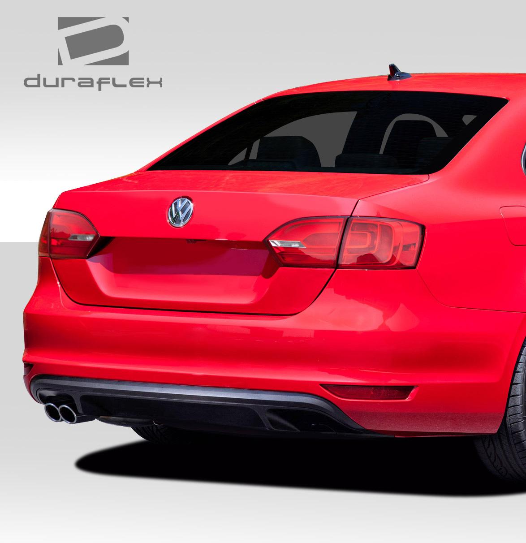 Volkswagen 2015 Jetta: 2011-2015 Volkswagen Jetta Duraflex GLI Look Rear Bumper