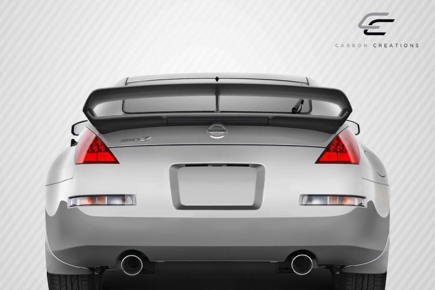 03 08 Fits Nissan 350z N 3 Carbon Fiber Creations Body Kit Wing Spoiler 109422