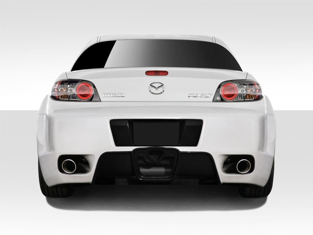 welcome to extreme dimensions    item group    2004-2008 mazda rx-8 duraflex type f body kit