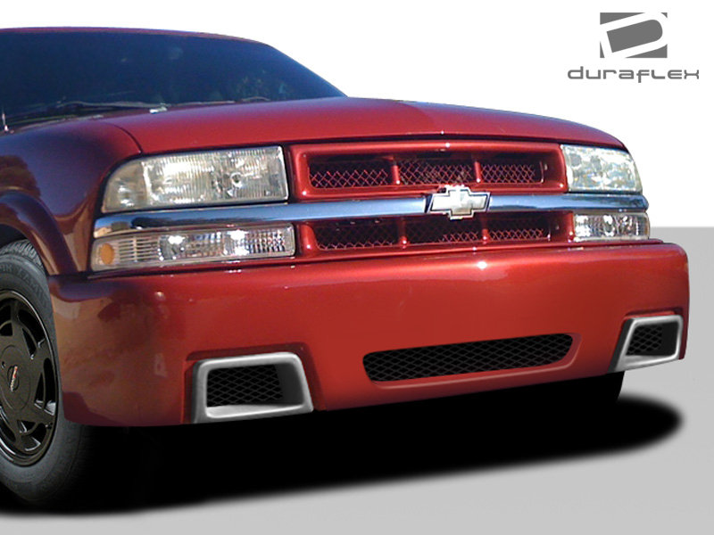 Details about Duraflex SS Look Front Bumper Cover for 1994-2004 Chevrolet  S10 1995-2004 Blazer