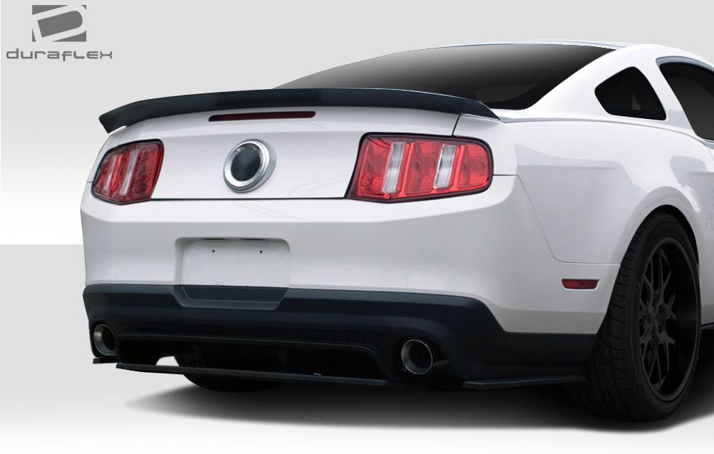 10 12 Ford Mustang R500 Duraflex Rear Bumper Diffuser Body Kit 109592 Ebay