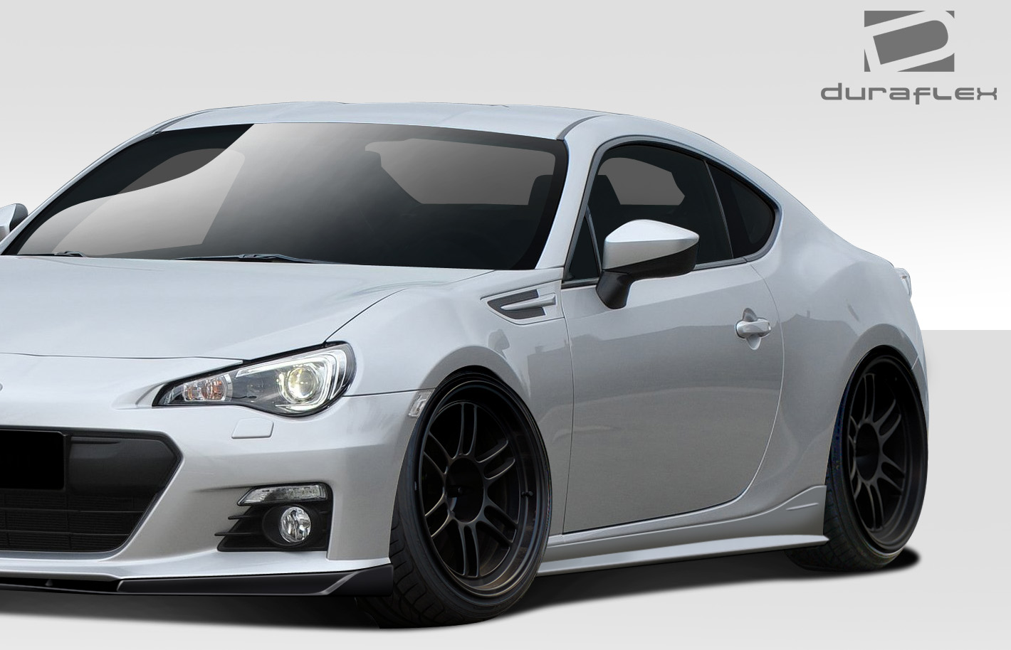 2015 scion frs sideskirts body kit 2013 2018 scion fr s toyota 86 subaru brz duraflex zeus. Black Bedroom Furniture Sets. Home Design Ideas
