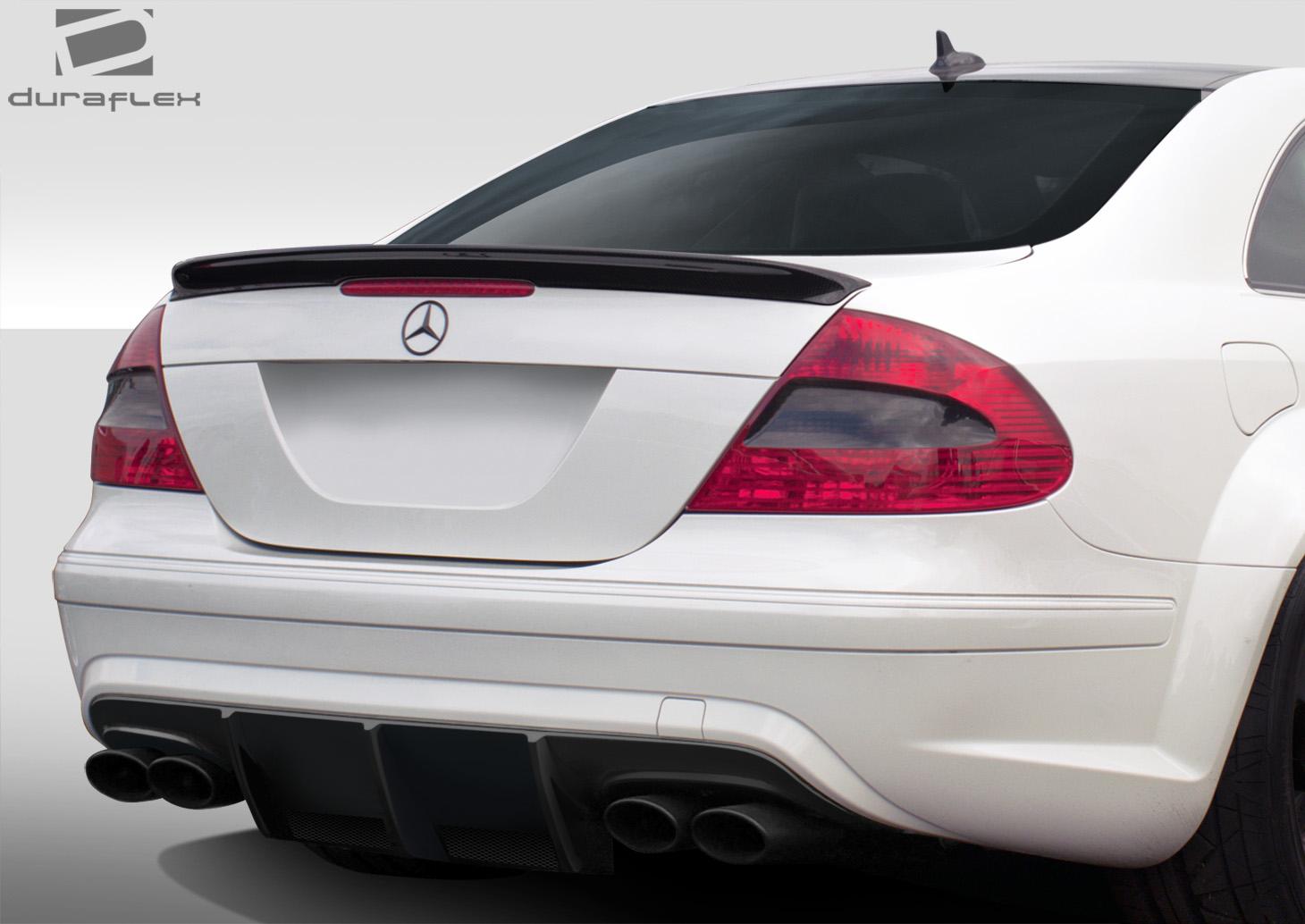 03 09 mercedes clk black series duraflex rear wide body for Mercedes benz clk black series body kit