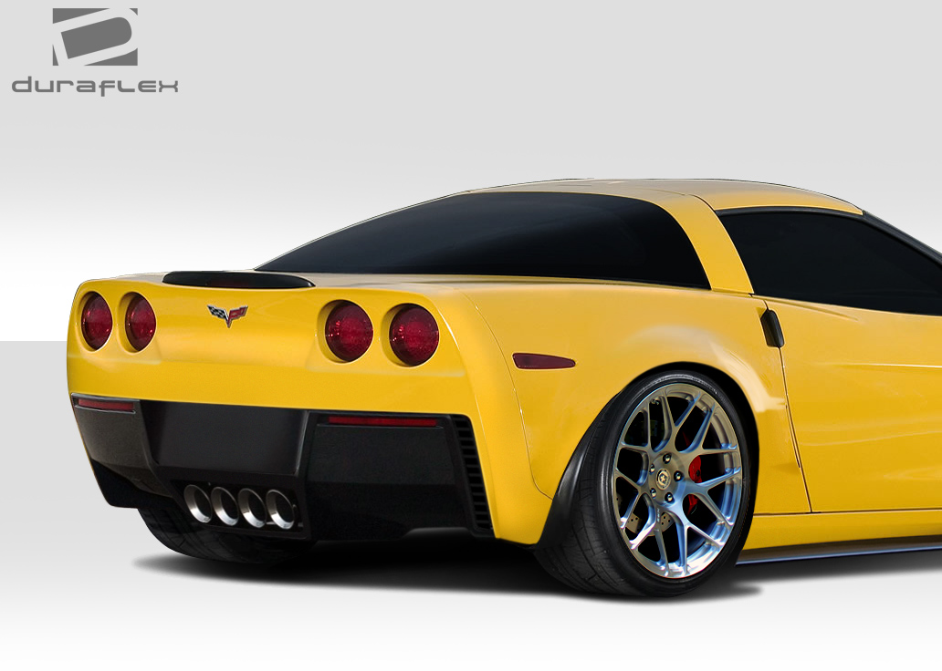 2005 2013 chevrolet corvette c6 stingray z rear bumper 1pc body kit 109690 ebay. Black Bedroom Furniture Sets. Home Design Ideas