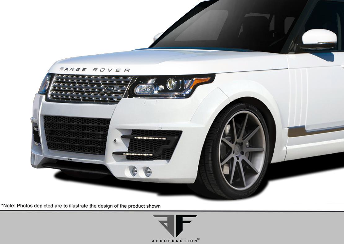 polyurethane front bumper body kit for 2014 land rover range rover 2013 2015 land rover range. Black Bedroom Furniture Sets. Home Design Ideas