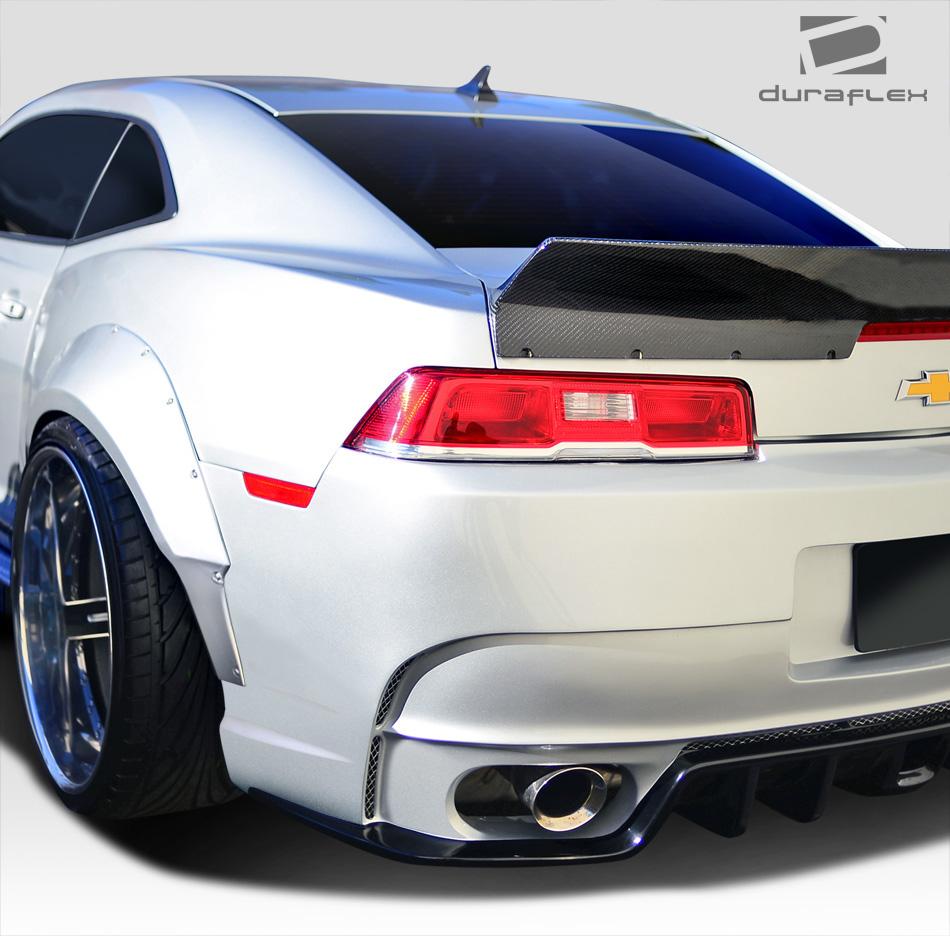 10-15 Chevrolet Camaro Duraflex Wide Body GT Concept Rear