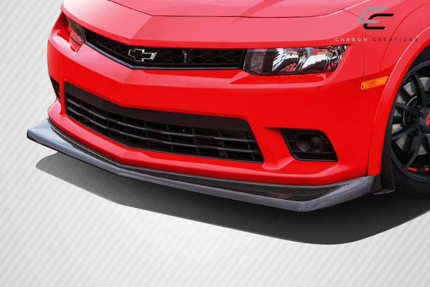 2014 2015 chevy camaro carbon creations z28 look front lip. Black Bedroom Furniture Sets. Home Design Ideas