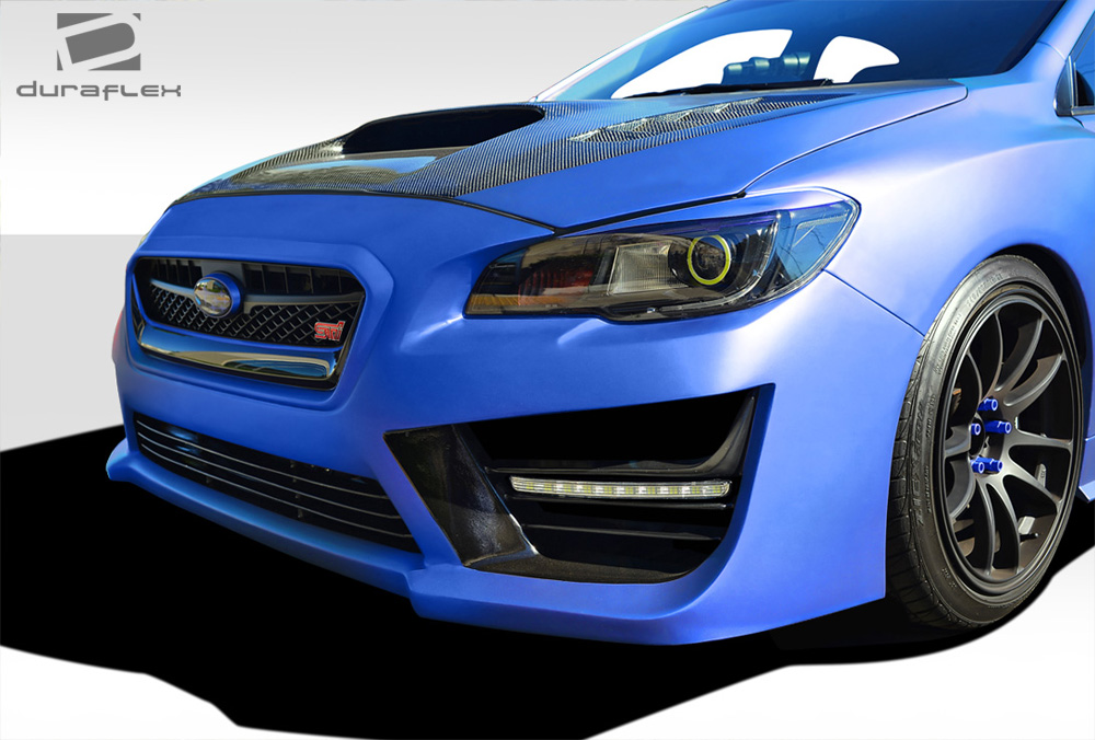 front bumper body kit for 2017 subaru wrx 2015 2018. Black Bedroom Furniture Sets. Home Design Ideas