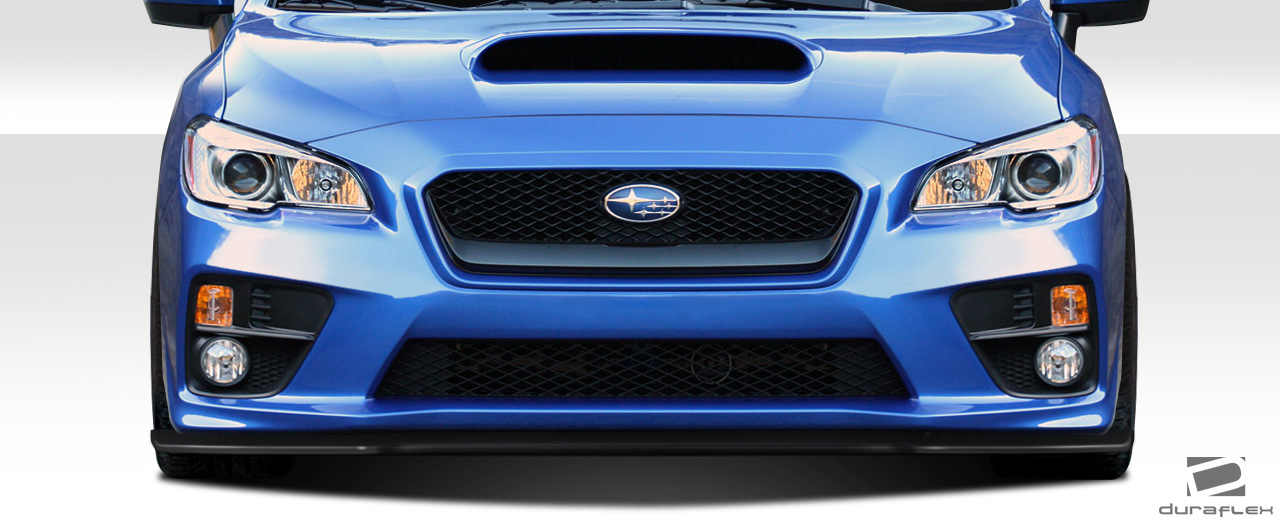 2017 subaru wrx fiberglass front lip add on body kit. Black Bedroom Furniture Sets. Home Design Ideas