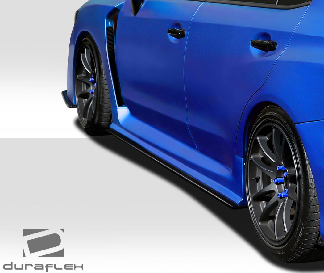 2015-2019 Subaru WRX Duraflex NBR Concept Side Splitters
