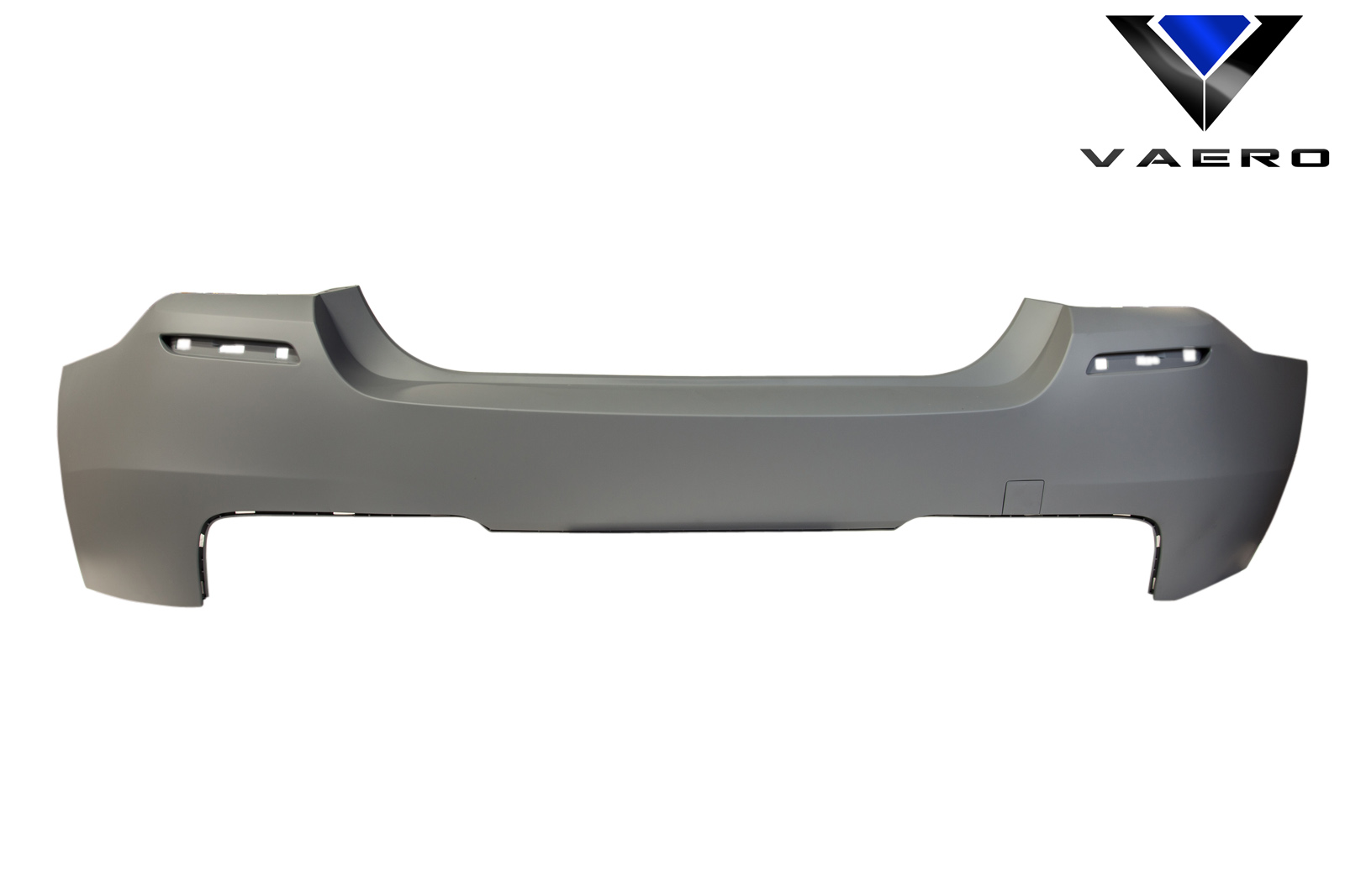 2016 BMW 5 Series 4DR Rear Bumper Bodykit - BMW 5 Series 528i F10 4DR Vaero M Sport Look Rear Bumper Cover ( without PDC ) - 2 Piece