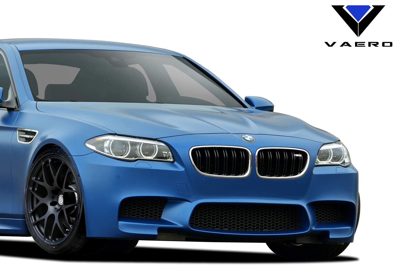 2016 BMW 5 Series ALL - Polypropylene Front Bumper Bodykit - BMW 5 Series F10 Vaero M5 Look Conversion Front Bumper Cover ( with PDC , with Washer , w