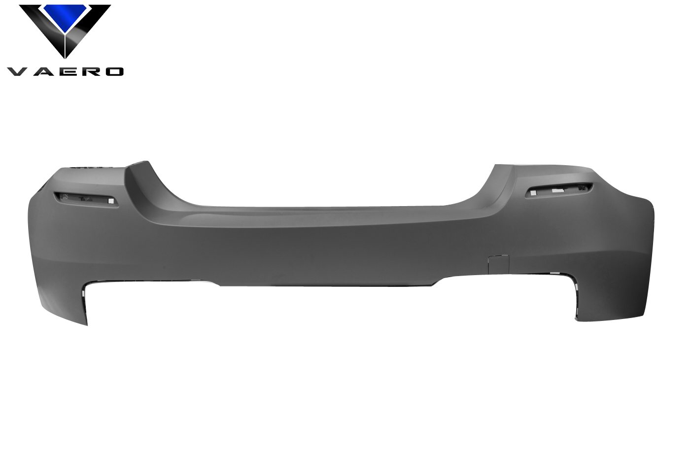 2016 BMW 5 Series 4DR - Polypropylene Rear Bumper Bodykit - BMW 5 Series F10 4DR Vaero M5 Look Rear Bumper Cover ( without PDC ) - 1 Piece