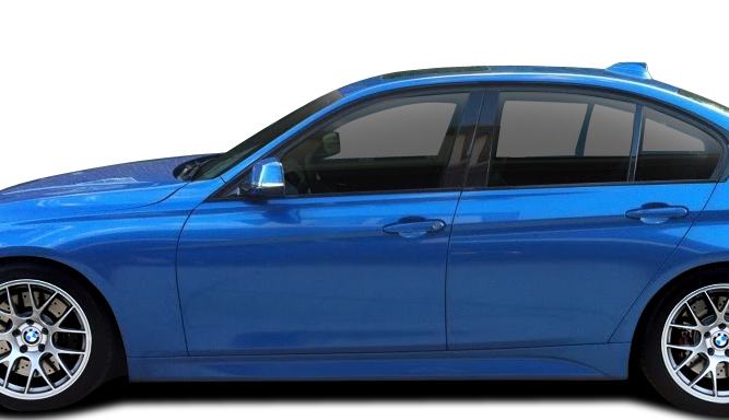 2016 BMW 3 Series ALL - Polypropylene Body Kit Bodykit - BMW 3 Series 335i F30 Vaero M Sport Look Kit ( with PDC , with Park Aid , with Washer , with