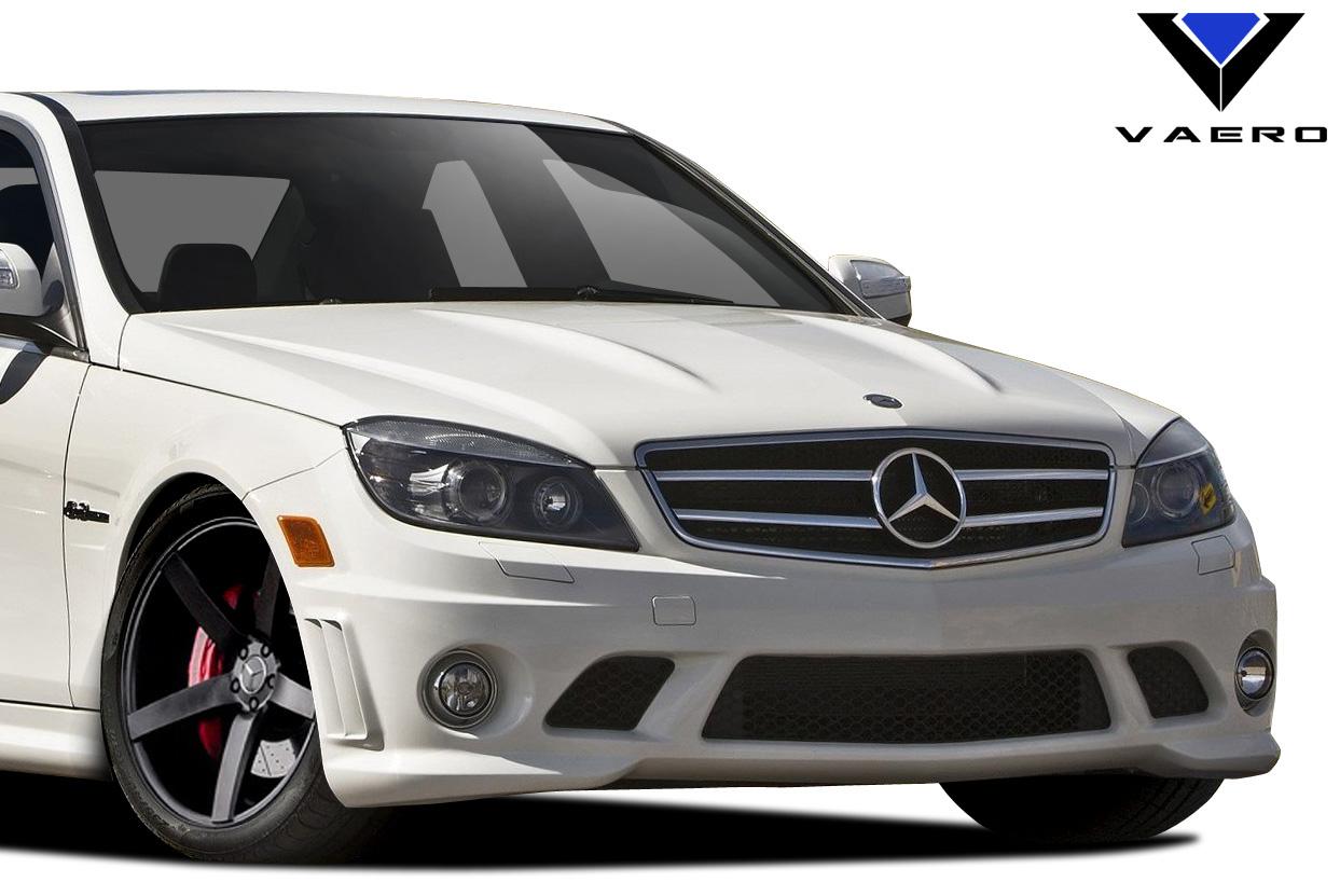 2008 2011 mercedes c class w204 vaero c63 look front for Mercedes benz c300 aftermarket accessories