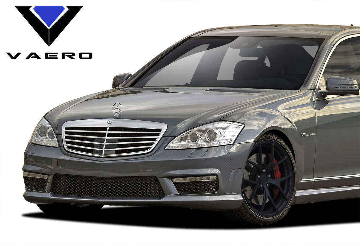 2010 2013 mercedes s class w221 vaero s63 look front for Mercedes benz s550 car cover