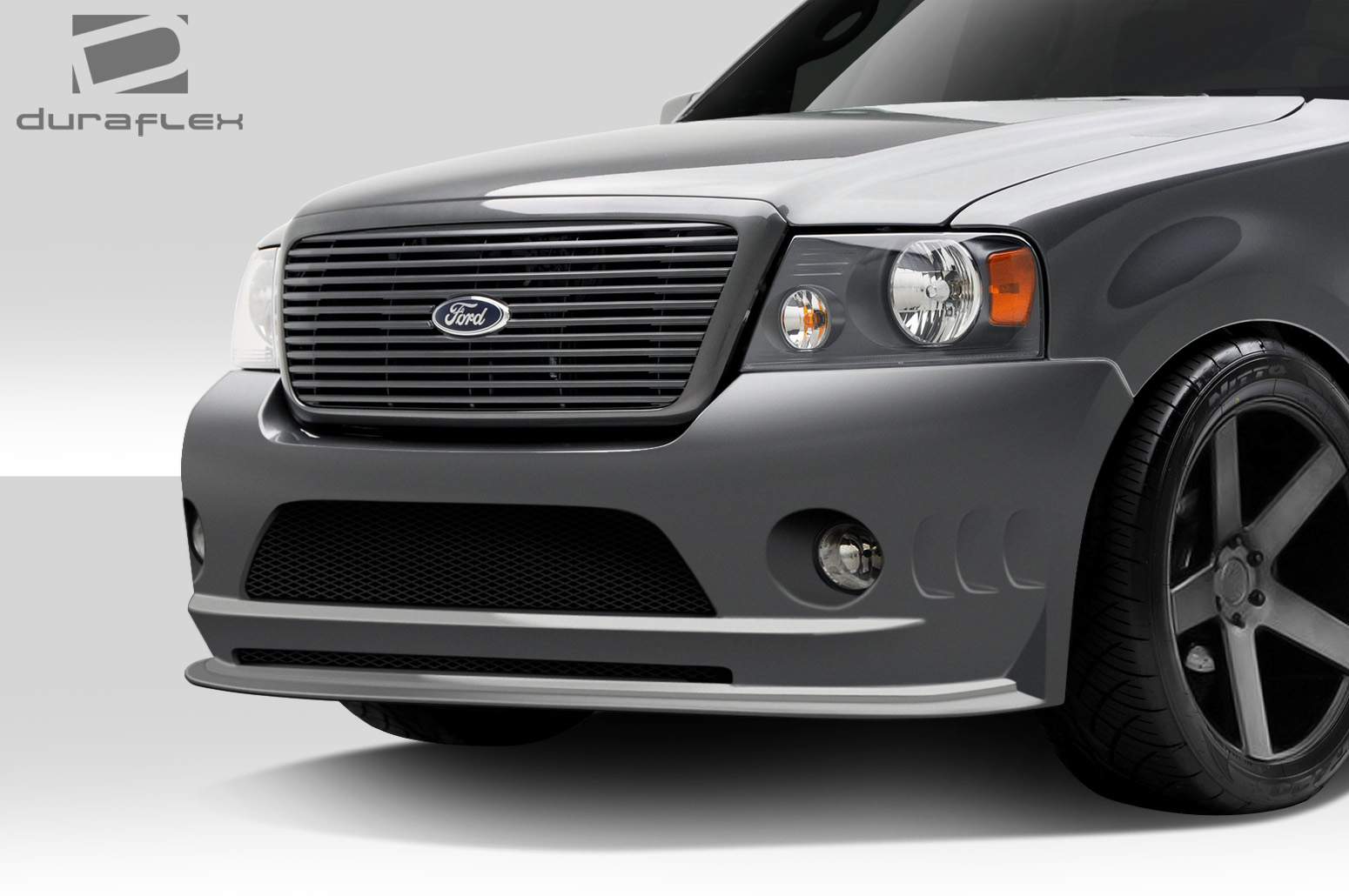 04 08 ford f150 bt 2 duraflex front body kit bumper 109915 ebay. Black Bedroom Furniture Sets. Home Design Ideas