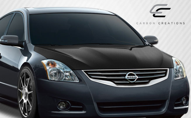 2010-2013 Nissan Altima Carbon Creations OEM Hood Body Kit