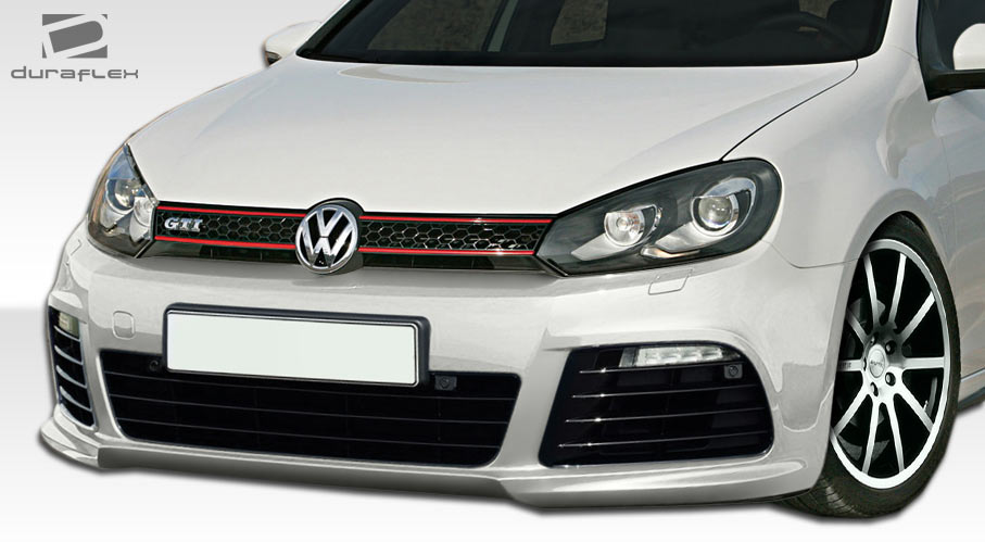 2011 Volkswagen Golf Front Bumper Body Kit - 2010-2014 Volkswagen Golf GTI Jetta Sportwagen ...