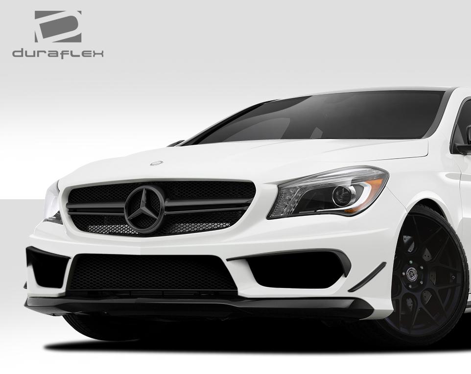 14 15 mercedes cla black series look duraflex 5 pcs front for Mercedes benz front bumper