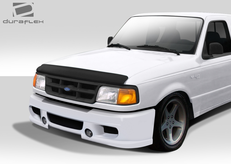 1993 1997 Ford Ranger Duraflex Bt 1 Front Bumper Cover 1