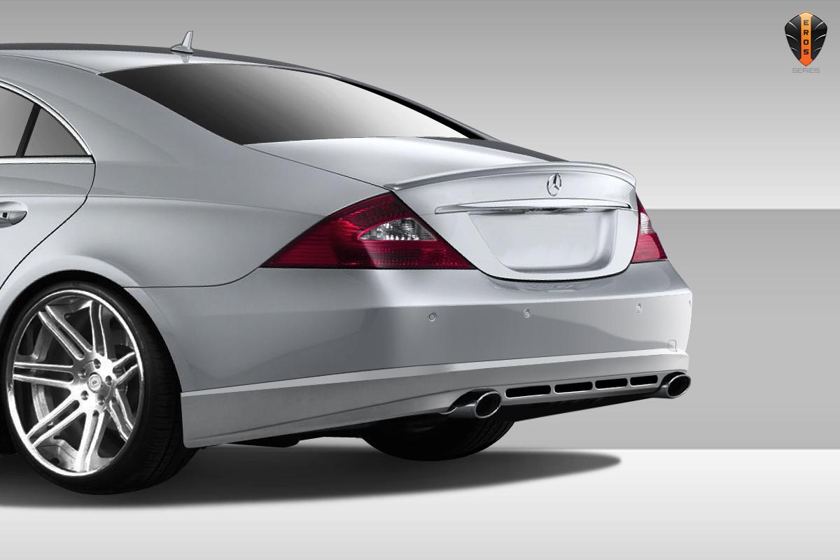 06 08 Mercedes Cls Eros V 1 Overstock Rear Bumper Lip Body