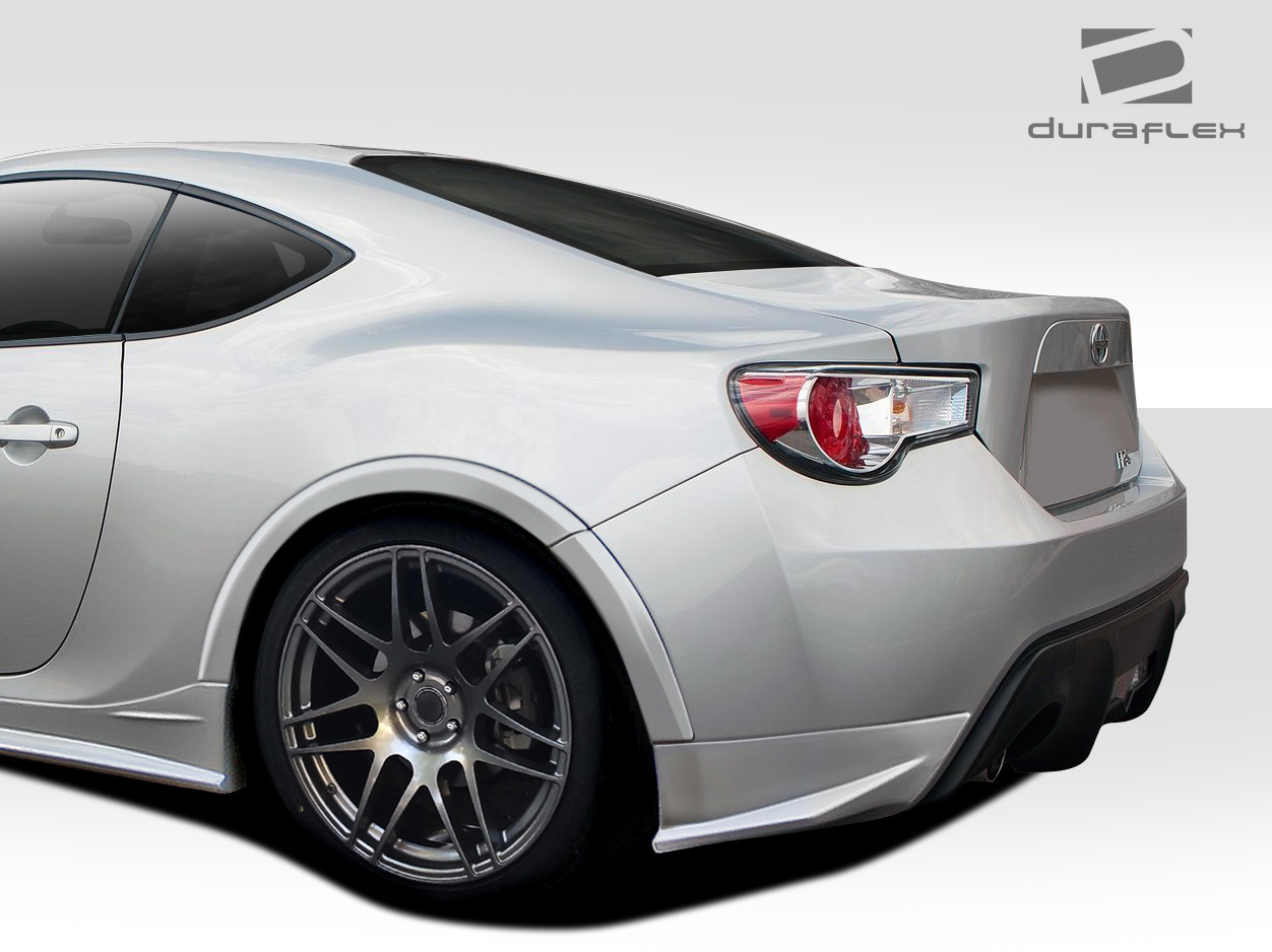 2013 2018 scion fr s toyota 86 subaru brz duraflex zeus fender flares 8 piece. Black Bedroom Furniture Sets. Home Design Ideas