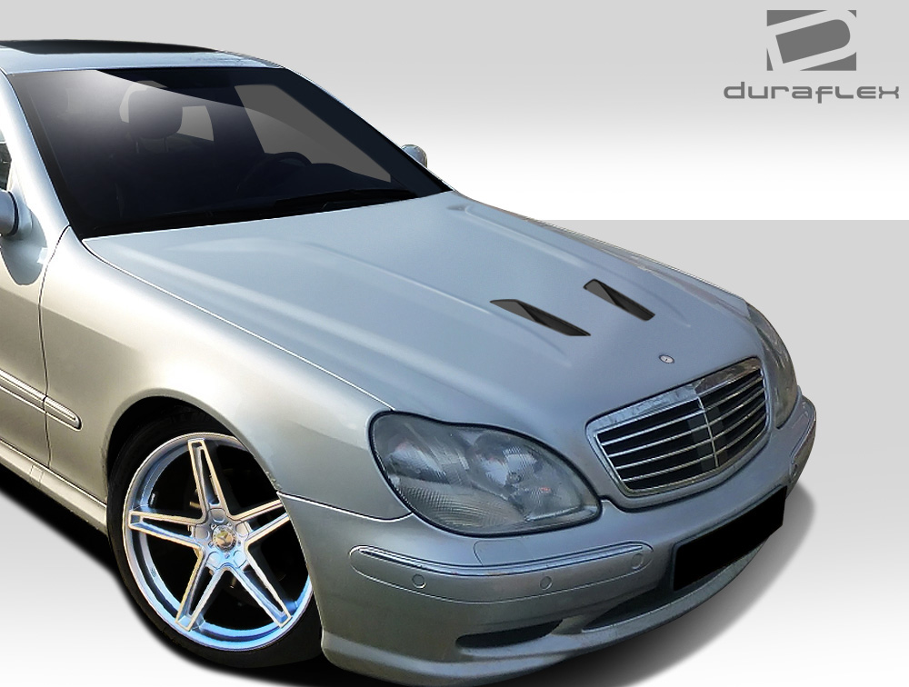 2000 2002 mercedes s class w220 duraflex black series look. Black Bedroom Furniture Sets. Home Design Ideas