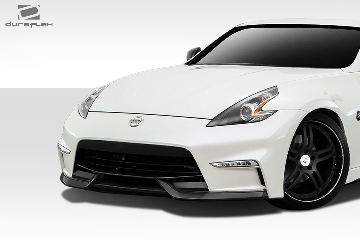 Duraflex N 3 Front Bumper Cover 1 Piece For 2009 2018 Nissan 370z