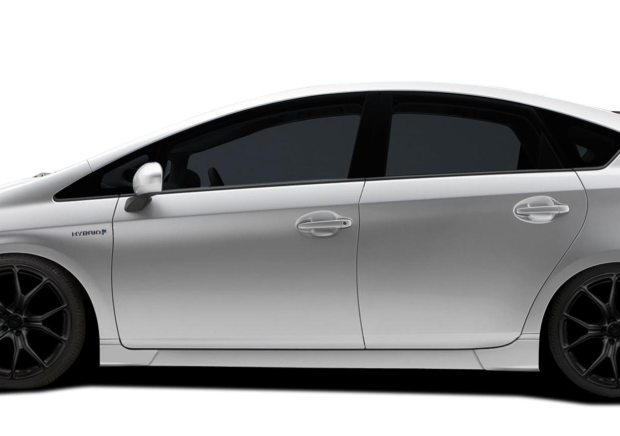 2011 Toyota Prius  - Polyurethane Body Kit Bodykit - Toyota Prius Couture Vortex Body Kit - 7 Piece - Includes Vortex Front Lip (112372), Vortex Side