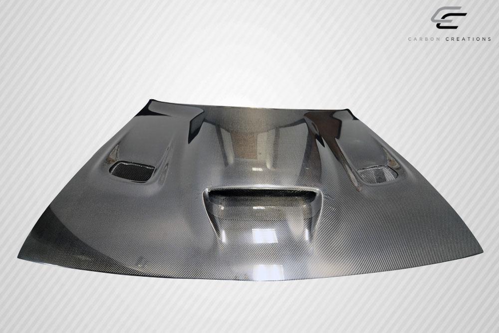 08 16 dodge challenger hellcat carbon fiber creations body kit hood 112475 ebay. Black Bedroom Furniture Sets. Home Design Ideas