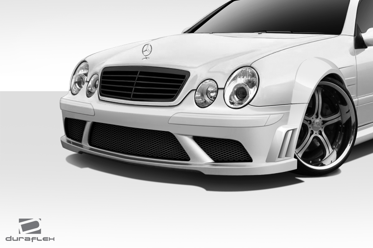 1998 2002 mercedes benz clk w208 duraflex black series for Mercedes benz clk body kit