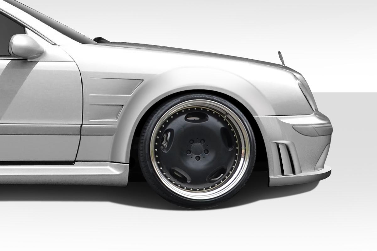 98 02 Mercedes Clk Black Series Look Duraflex 8 Pcs Full