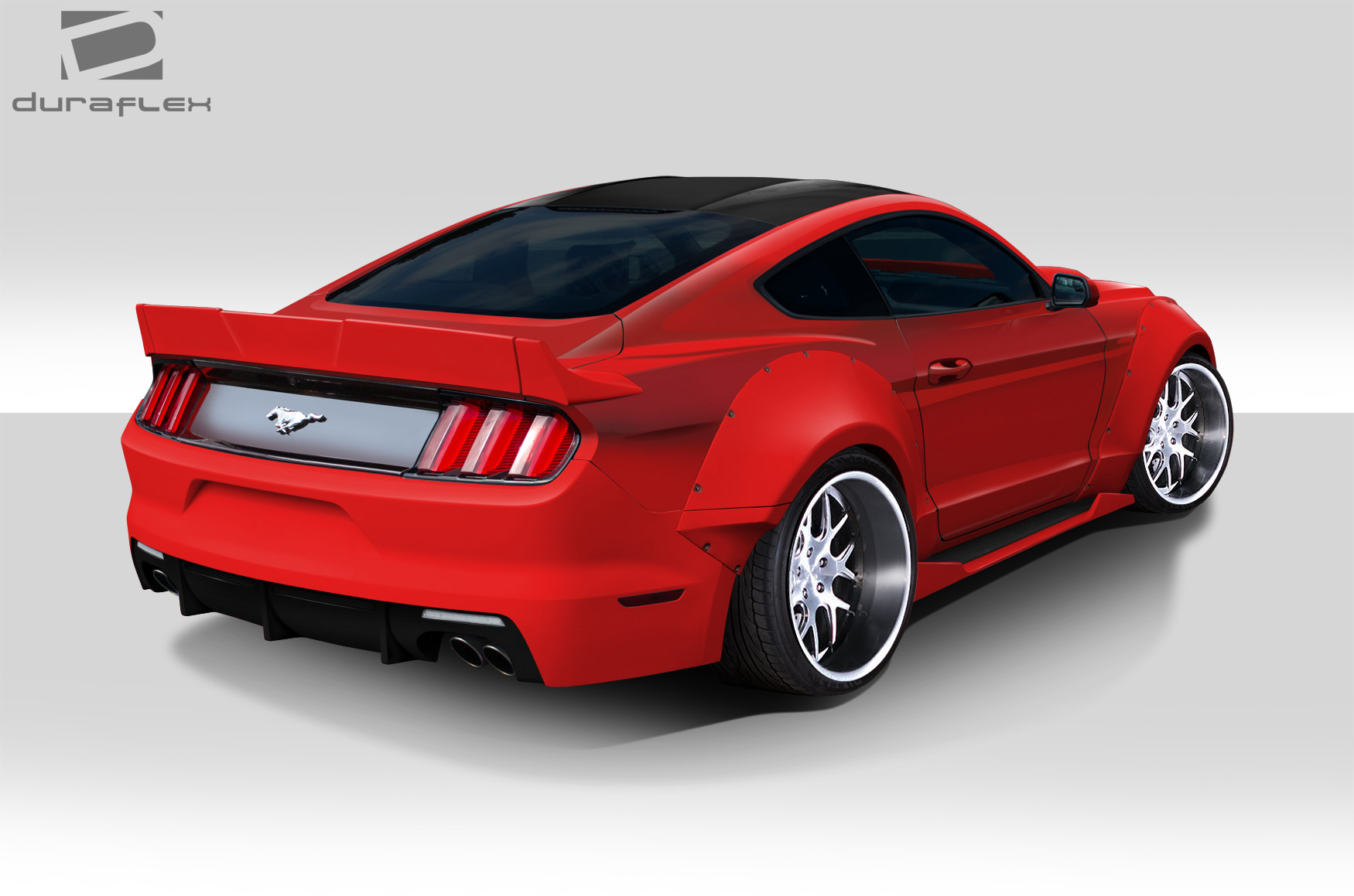 welcome to extreme dimensions item group 2015 2017 ford mustang duraflex grid wide body. Black Bedroom Furniture Sets. Home Design Ideas