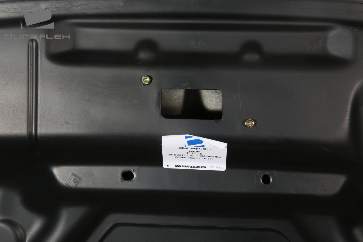 welcome to extreme dimensions    inventory item    2015-2020 ford f-150 duraflex gt500 hood