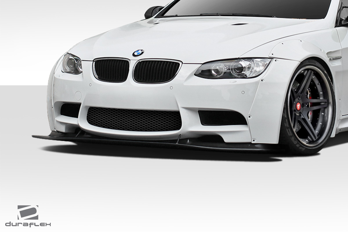 2012 bmw m3 fiberglass front lip add on body kit bmw m3 e92 e93 e90 duraflex circuit front. Black Bedroom Furniture Sets. Home Design Ideas